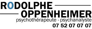 Psychothérapeute – Psychanalyste – Rodolphe Oppenheimer