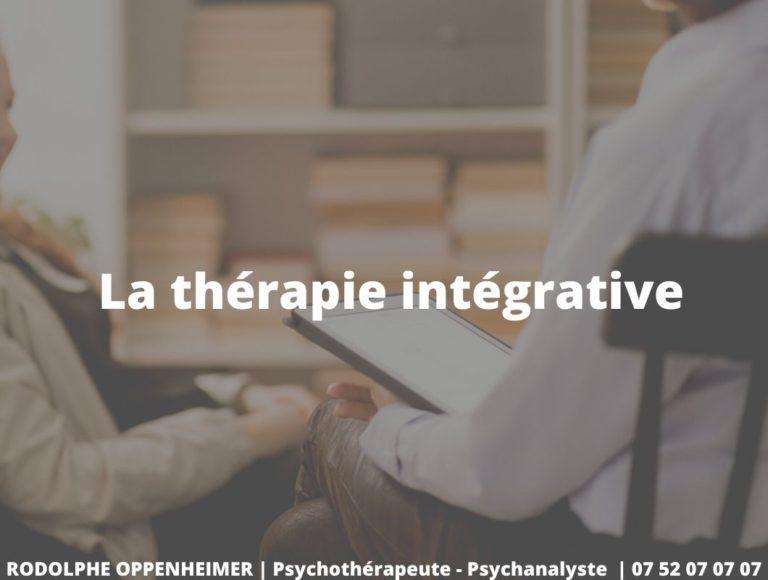 La thérapie intégrative