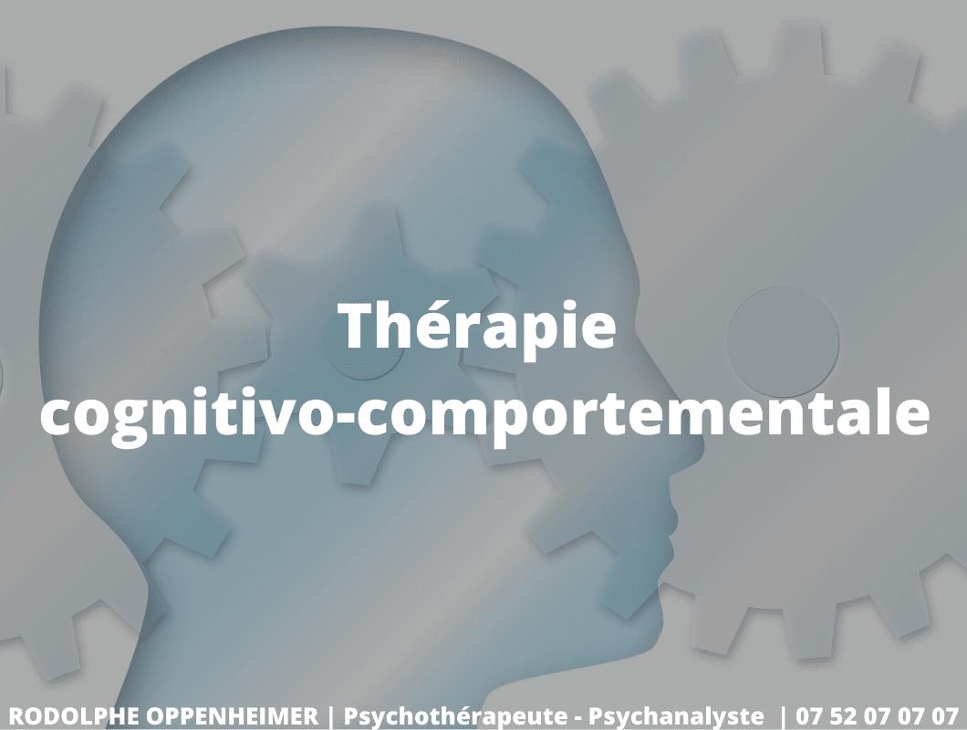 La thérapie cognitivo-comportementale