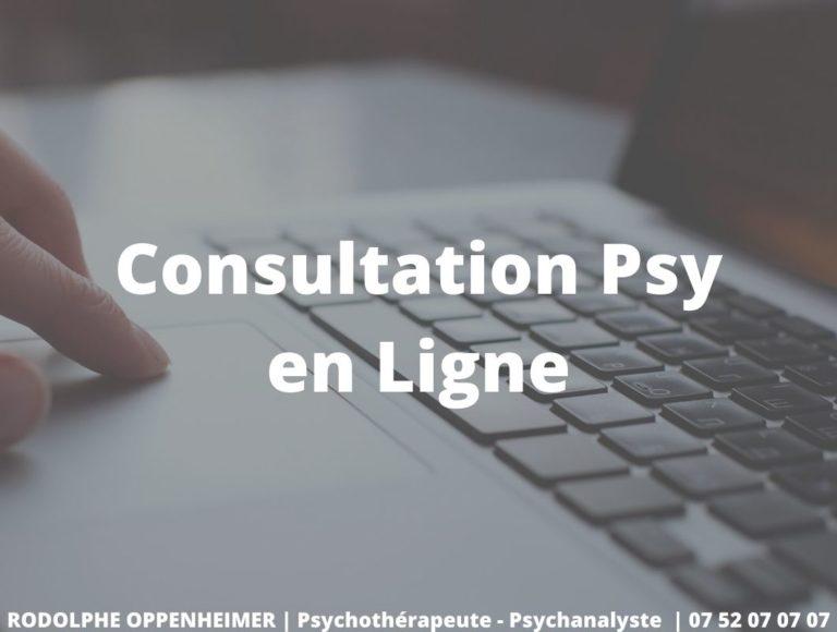Consultation psy en ligne