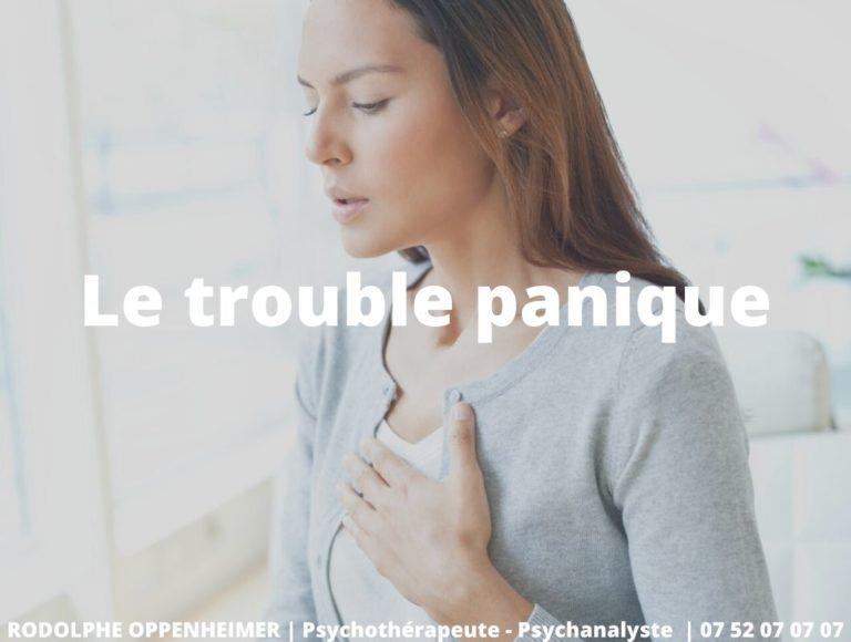 Le trouble panique