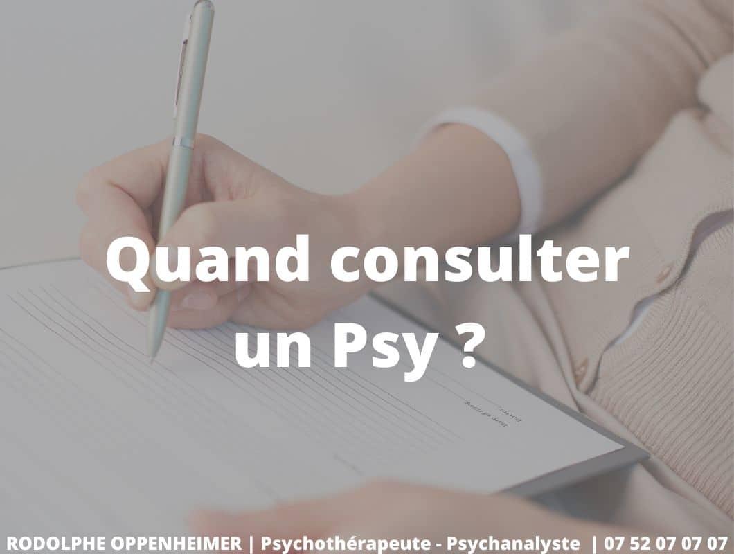 Consultation Psy