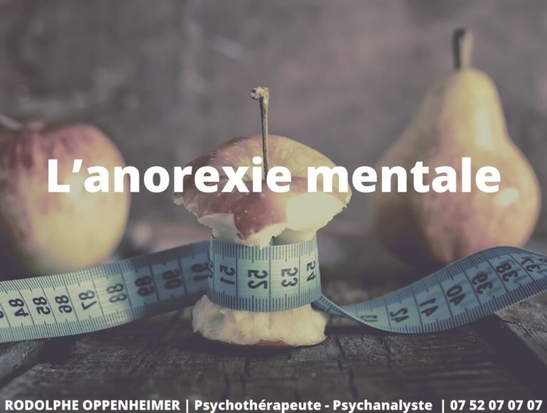 L'anorexie mentale