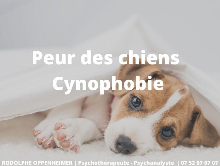 Peur des chiens – Cynophobie
