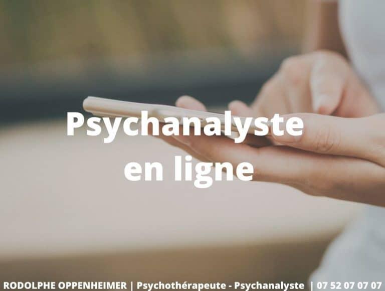 Psychanalyste en ligne