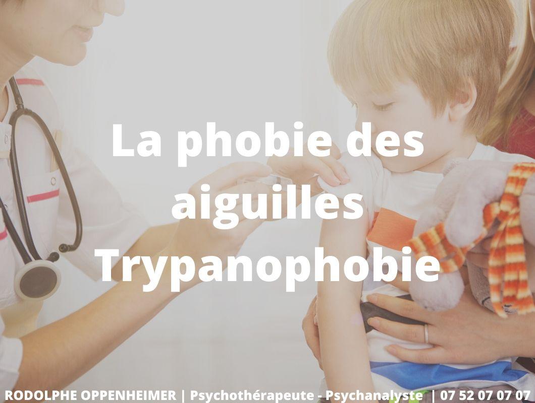 La phobie des aiguilles – Trypanophobie