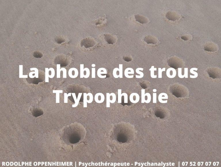 La phobie des trous – Trypophobie
