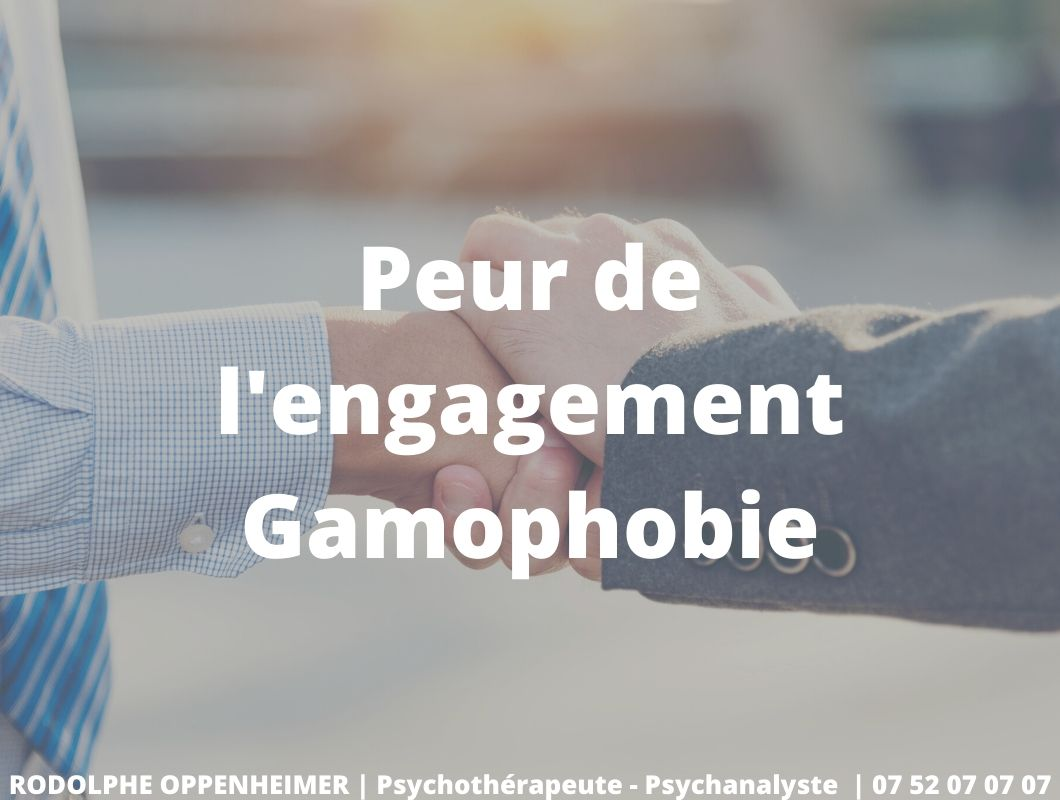 Peur de l'engagement – Gamophobie
