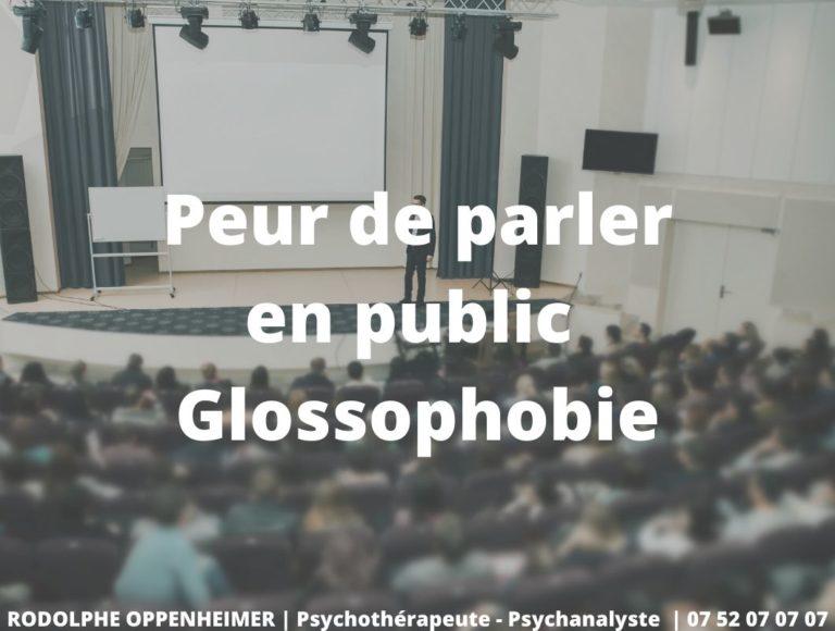 Peur de parler en public – Glossophobie