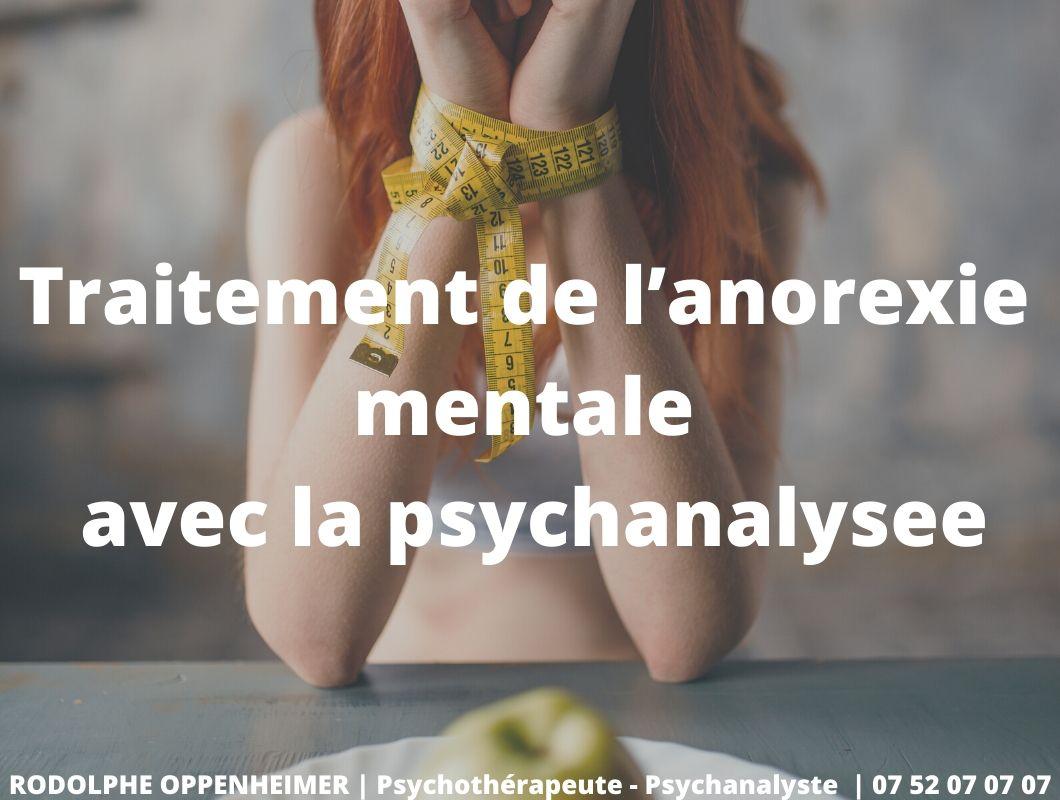 Traitement de l'anorexie mentaleavec la psychanalyse