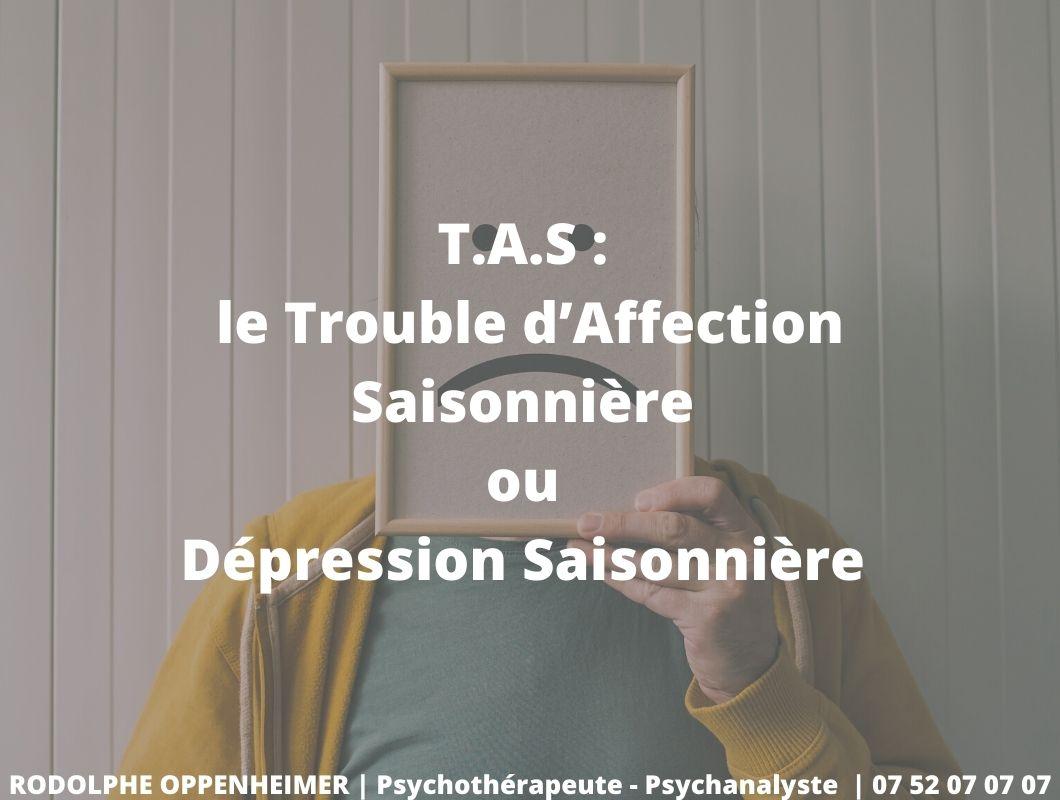 You are currently viewing T.A.S : le trouble d'affection saisonnière ou dépression saisonnière