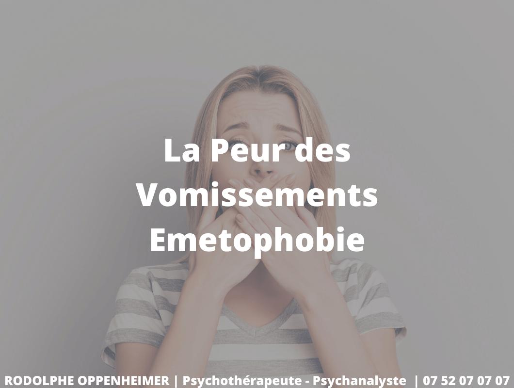 La Peur des Vomissements – Emetophobie