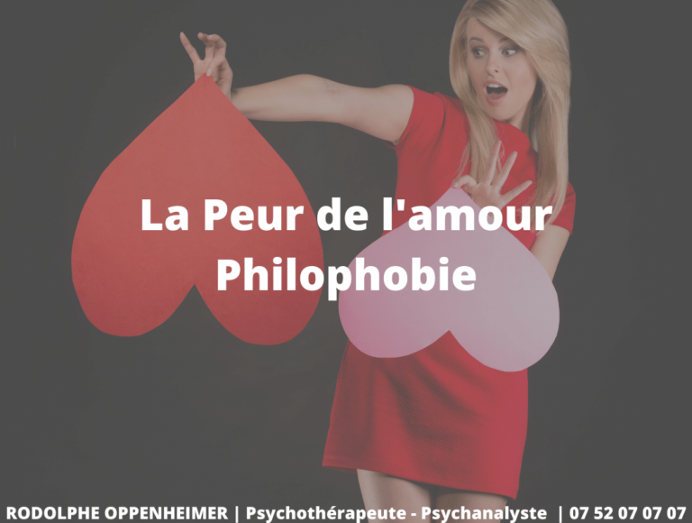 La Peur de l'Amour – Philophobie
