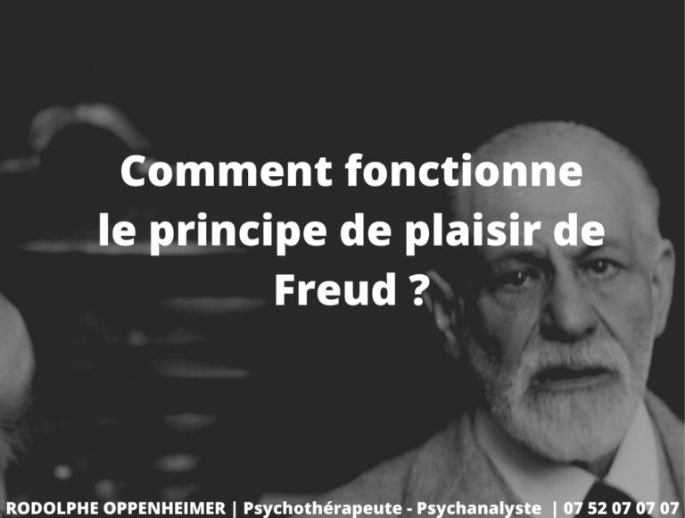 Comment Fonctionne le Principe de Plaisir de Freud ?