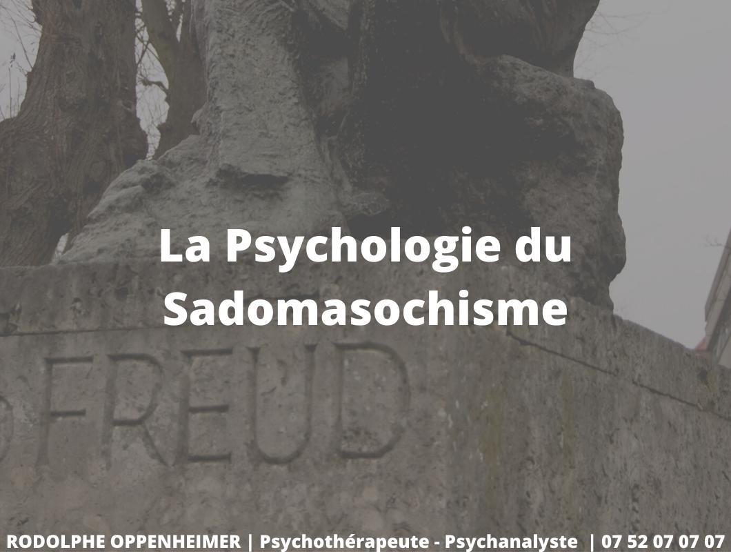 You are currently viewing La psychologie du sadomasochisme