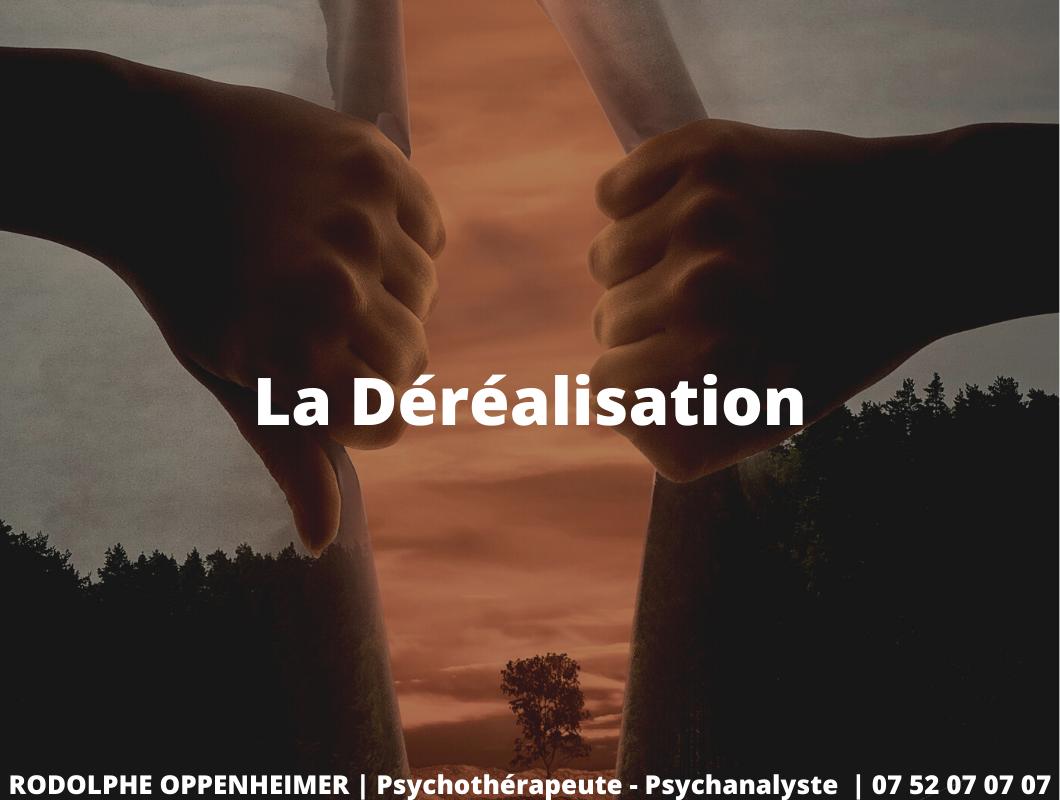 Read more about the article Qu'est-ce que la déréalisation et comment la soigner ?