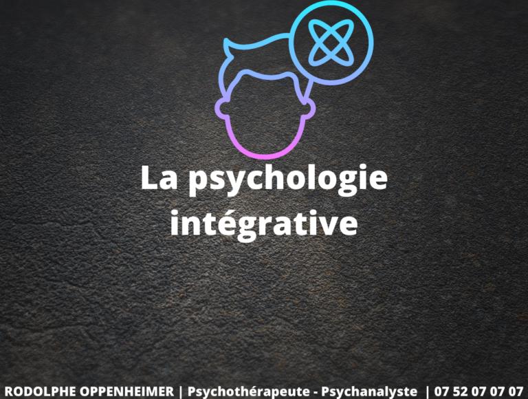 Read more about the article La psychologie intégrative
