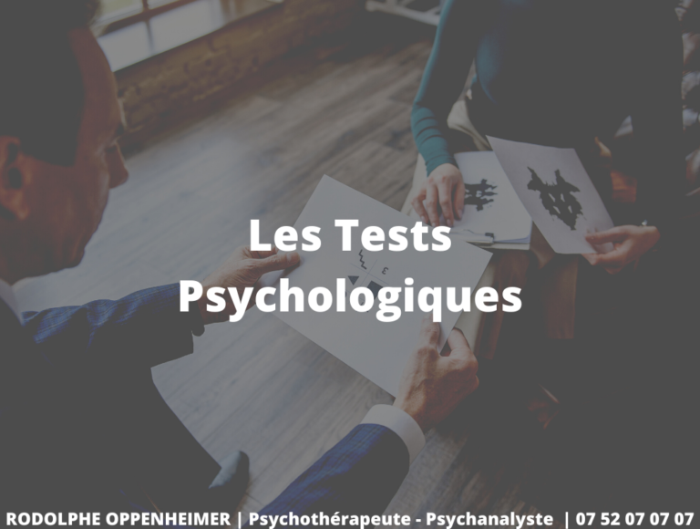 Read more about the article Les tests psychologiques