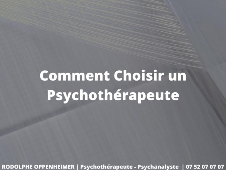 Read more about the article Comment Choisir un Psychothérapeute à Clichy ?